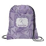 Sea Shells Drawstring Backpack (Personalized)