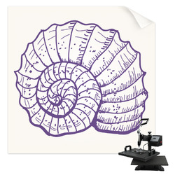 Sea Shells Sublimation Transfer (Personalized)
