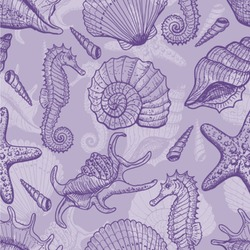 Sea Shells Wallpaper & Surface Covering