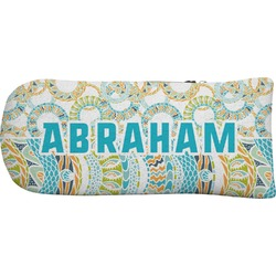 Teal Circles & Stripes Putter Cover (Personalized)