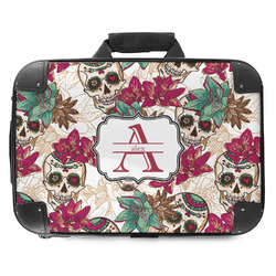 Sugar Skulls & Flowers Hard Shell Briefcase (Personalized)
