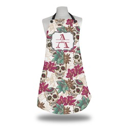 Sugar Skulls & Flowers Apron (Personalized)