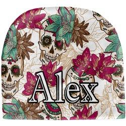 Sugar Skulls & Flowers Baby Hat (Beanie) (Personalized)