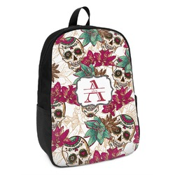 Sugar Skulls & Flowers Kids Backpack (Personalized)
