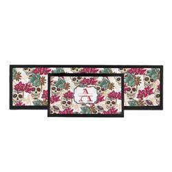 Sugar Skulls & Flowers Bar Mat (Personalized)