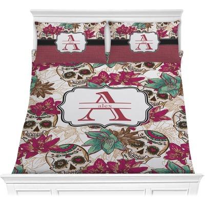 Sugar Skulls & Flowers Comforters (Personalized)
