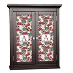 Sugar Skulls & Flowers Cabinet Decal - Custom Size (Personalized)