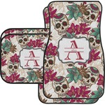 Sugar Skulls & Flowers Car Floor Mats (Personalized)