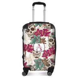 Sugar Skulls & Flowers Suitcase (Personalized)