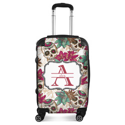 Sugar Skulls & Flowers Suitcase (Personalized)