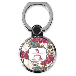 Sugar Skulls & Flowers Cell Phone Ring Stand & Holder (Personalized)