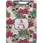 Sugar Skulls & Flowers Clipboard (Personalized)