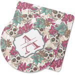 Sugar Skulls & Flowers Rubber Backed Coaster (Personalized)