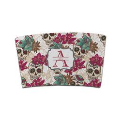 Sugar Skulls & Flowers Coffee Cup Sleeve (Personalized)