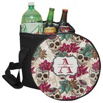 Sugar Skulls & Flowers Collapsible Cooler & Seat (Personalized)