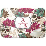 Sugar Skulls & Flowers Dish Drying Mat (Personalized)