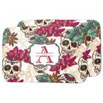 Sugar Skulls & Flowers Dish Drying Mat (Personalized)
