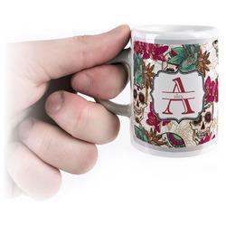 Sugar Skulls & Flowers Espresso Cups (Personalized)