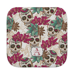Sugar Skulls & Flowers Face Towel (Personalized)