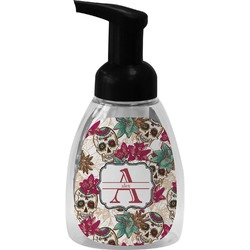 Sugar Skulls & Flowers Foam Soap Dispenser (Personalized)