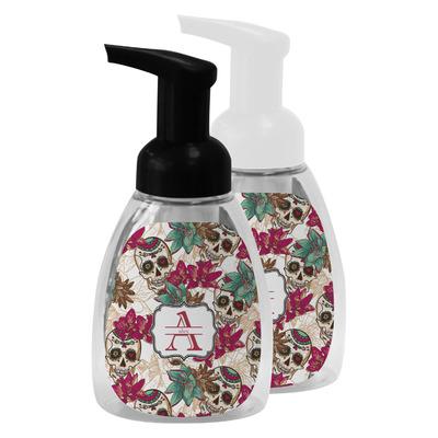 Sugar Skulls & Flowers Foam Soap Bottle (Personalized)