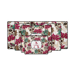 Sugar Skulls & Flowers Gaming Mouse Pad (Personalized)