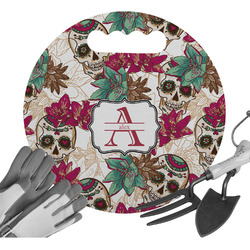 Sugar Skulls & Flowers Gardening Knee Cushion (Personalized)