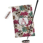 Sugar Skulls & Flowers Golf Towel Gift Set (Personalized)