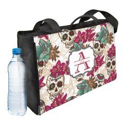 Sugar Skulls & Flowers Ladies Workout Bag (Personalized)