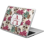 Sugar Skulls & Flowers Laptop Skin - Custom Sized (Personalized)