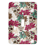 Sugar Skulls & Flowers Light Switch Covers (Personalized)