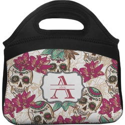 Sugar Skulls & Flowers Lunch Tote (Personalized)