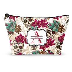 Sugar Skulls & Flowers Makeup Bags (Personalized)