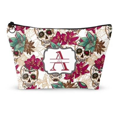 Sugar Skulls & Flowers Makeup Bags (Personalized)