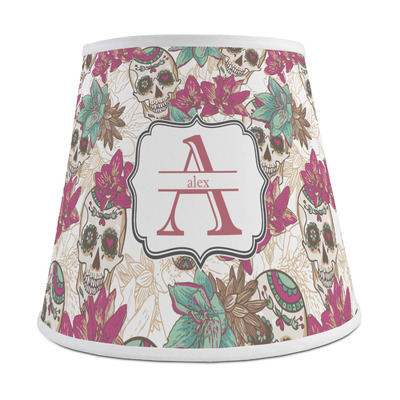 Sugar Skulls & Flowers Empire Lamp Shade (Personalized)