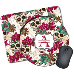 Sugar Skulls & Flowers Mouse Pads (Personalized)