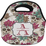 Sugar Skulls & Flowers Lunch Bag (Personalized)