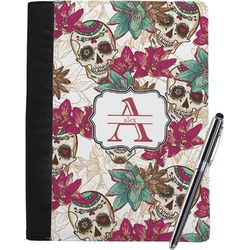 Sugar Skulls & Flowers Notebook Padfolio (Personalized)
