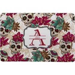 Sugar Skulls & Flowers Comfort Mat (Personalized)