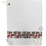 Sugar Skulls & Flowers Golf Towel (Personalized)