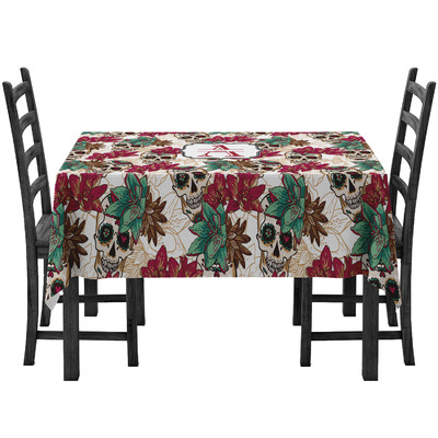 Sugar Skulls & Flowers Tablecloth (Personalized)