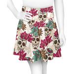 Sugar Skulls & Flowers Skater Skirt (Personalized)