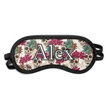 Sugar Skulls & Flowers Sleeping Eye Mask (Personalized)