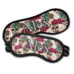 Sugar Skulls & Flowers Sleeping Eye Masks (Personalized)