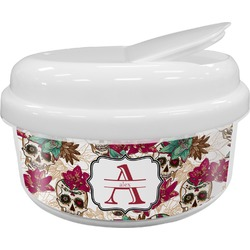 Sugar Skulls & Flowers Snack Container (Personalized)