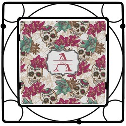 Sugar Skulls & Flowers Trivet (Personalized)