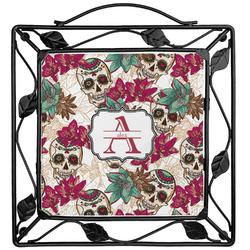 Sugar Skulls & Flowers Trivet (Personalized)
