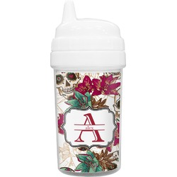 Sugar Skulls & Flowers Sippy Cup (Personalized)
