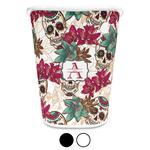 Sugar Skulls & Flowers Waste Basket (Personalized)