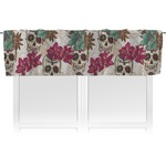 Sugar Skulls & Flowers Valance (Personalized)